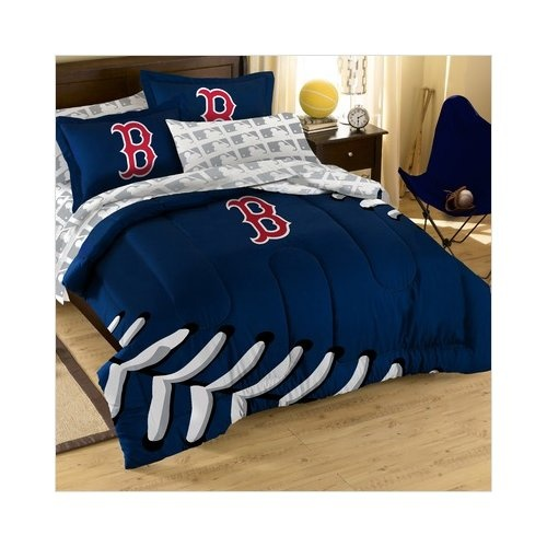 MLB Boston Red Sox Full Bed in a Bag  wow I. 21 best Red Sox Room images on Pinterest