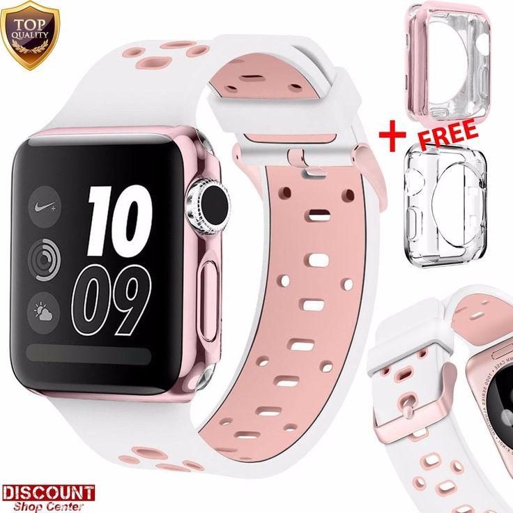 For Apple Watch 42mm Silicone Replacement Loop Strap Band & Case Bracelet iWatch #ForAppleWatch42mm