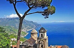 Neapolský záliv, Amalfské pobřeží, Vesuv, Capri