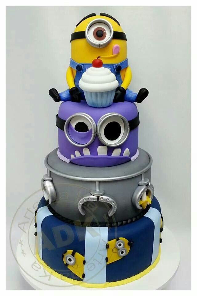 Minions. Like the mouth/tongue on the top one.