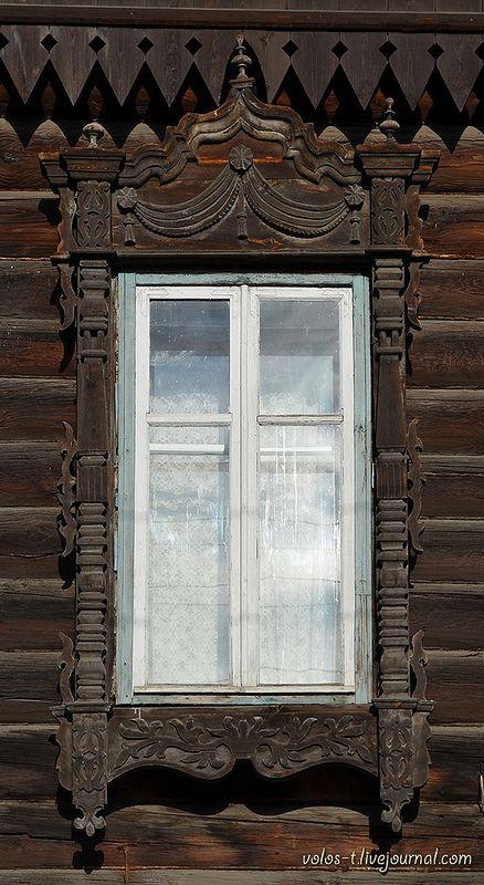 Томские кружева. Часть 11: ул.Кононова, пер.Комсомольский / Tomsk Wooden Architecture