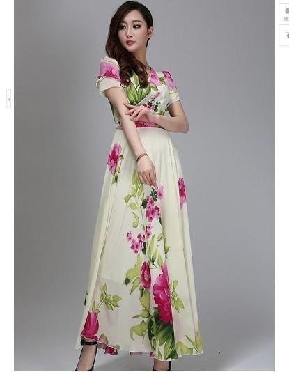 Купить платье макси большого размера