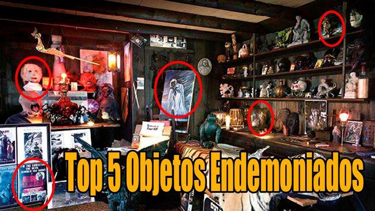 TOP 5 Objetos malditos mas aterradores de la historia Universo Misterios...