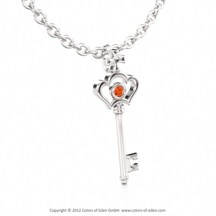 9 best orange jewels images on pinterest jewels rings and jewel box yellow gold diamond key pendant key to truth mozeypictures Images