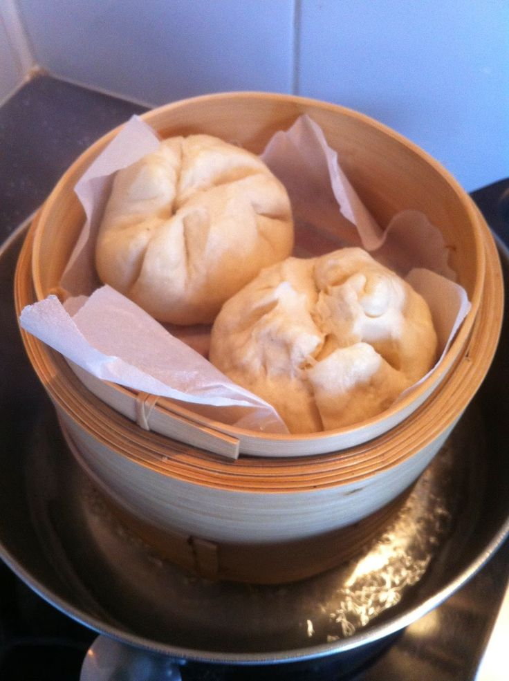 Invitations aux voyages culinaires: B130 - BRIOCHE A LA VAPEUR FARCIE - BAO ZI