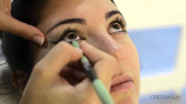 Tutorial sobre cómo maquillarnos para asistir a un evento de día con los productos de color de CRISTIAN LAY