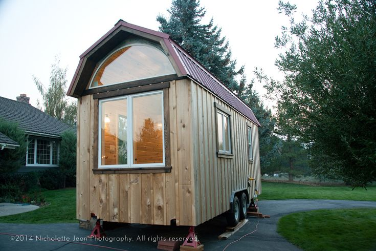 Best 67 Best Tiny Houses Gambrel Roofs Images On Pinterest 400 x 300