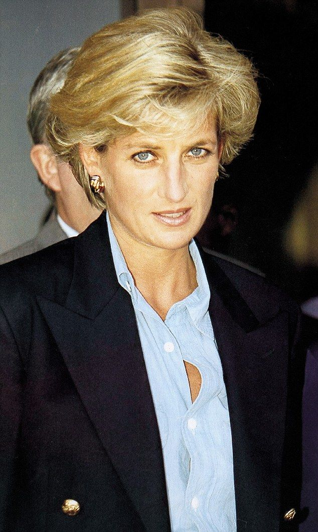 Tragic: Diana was killed in a car crash in the Pont de l'Alma tunnel in Paris in 1997. The accident also claimed the lives of Dodi Fayed and driver Henri Paul