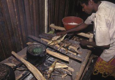 Dapur Rumah - Desa Kamoro