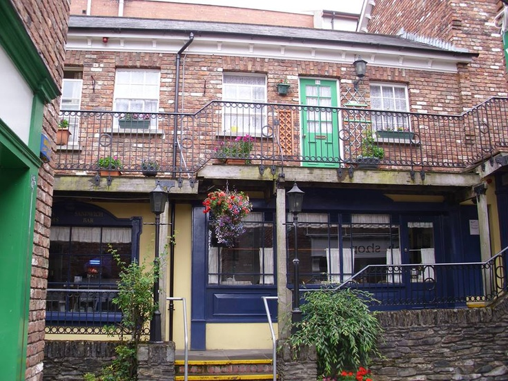 Silvija Vrbnjak Beautiful Ireland Photography    DERRY The craft village....This little courtyard is home to a handful craft shops selling Derry crystal,hand woven cloth,ceramics,jewelly and other local craft items...