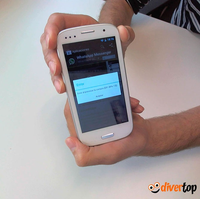 Cómo solucionar un error de compra en Google Play
