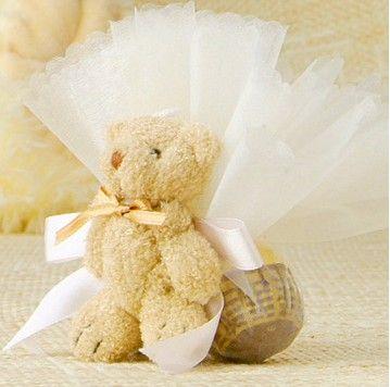 Bear Candy Box Christening Bomboniere