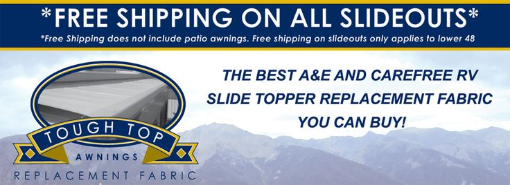 It's Easy to Replace Your Own Slide Topper Awning Fabric ...