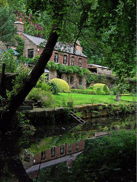 ~Old sawmill,Cromford canalside, Derbyshire, UK~ ~Former saw mill, now a bed and breakfast, Cromford canalside~