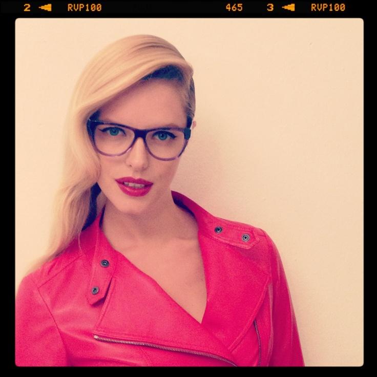 Enrico Coveri F/W 2013/2014 Backstage Photo: Paolo Santambrogio Model: Louise Von Celsing@Next Make up: Luciano Chiarello@Atomo Producer: Press2