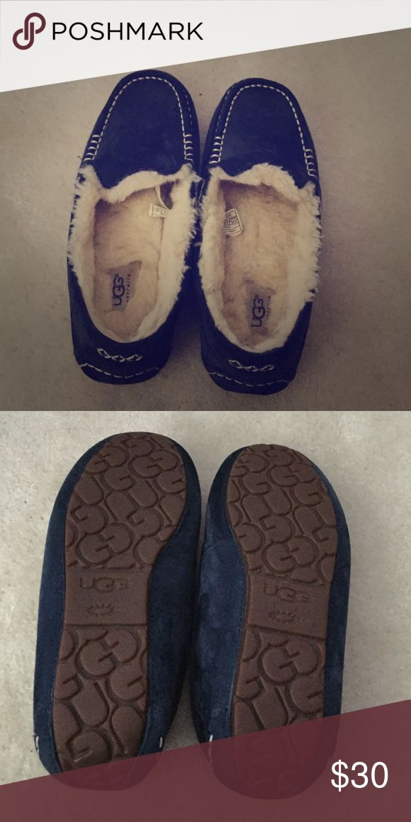 Ugg Slippers Ugg Slippers- worn only a handful of times- shows a little wear on the inside UGG Shoes Slippers