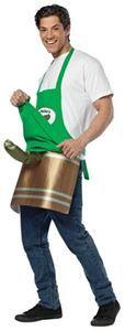 Deli Pickleman Apron Adult Mens Costume - 321578 #halloween #costumes #rrated #xrated #pickleman #adultcostumes