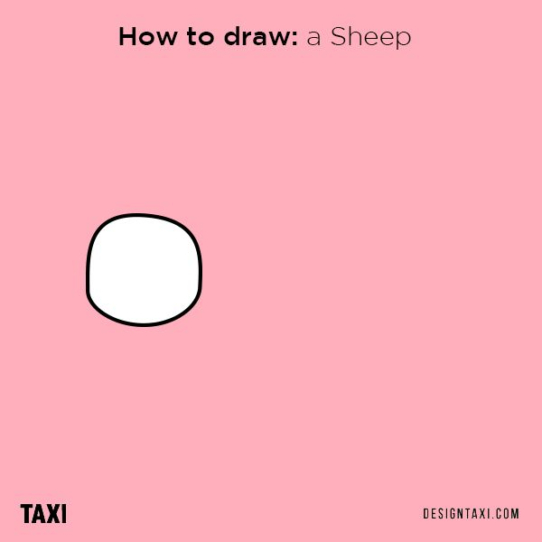 how to draw animals with shapes