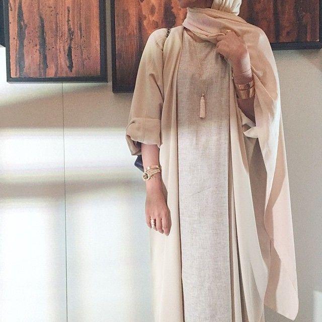 Pinterest: @eighthhorcruxx. Abaya and matching hijab