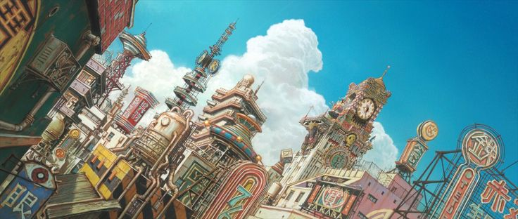 Tekkon Kinkreet Background Art - Imgur ★    CHARACTER DESIGN REFERENCES   キャラクターデザイン  • Find more artworks at https://www.facebook.com/CharacterDesignReferences & http://www.pinterest.com/characterdesigh and learn how to draw: #concept #art #animation #anime #comics    ★
