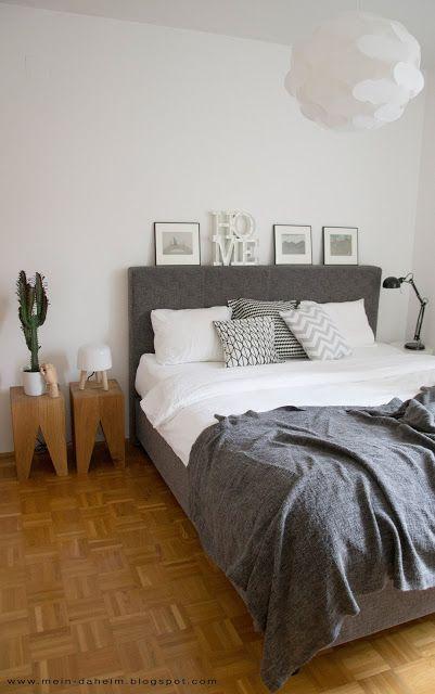 Schlafzimmer ideen ikea boxspringbett  Die 25+ besten Nachttisch boxspringbett Ideen auf Pinterest ...