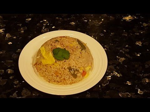 Arroz Chino con Pollo en mi olla de presión electrica/ Pressure Cooker LX - YouTube