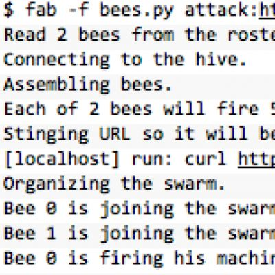 A utility for arming (creating) many bees (micro EC2 instances) to attack (load …