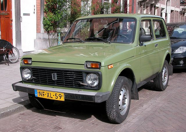Its called a Lada Niva. And for some reason I'm drawl to it like i was meant for that car.