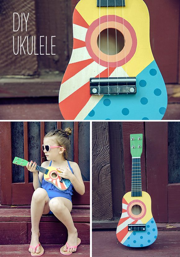 #Summer Fun: #DIY Ukulele for #Kids