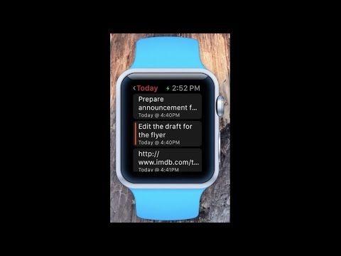 Todoist tendrá su aplicación para el Apple Watch - http://www.actualidadiphone.com/2015/02/03/todoist-tendra-su-aplicacion-para-el-apple-watch/