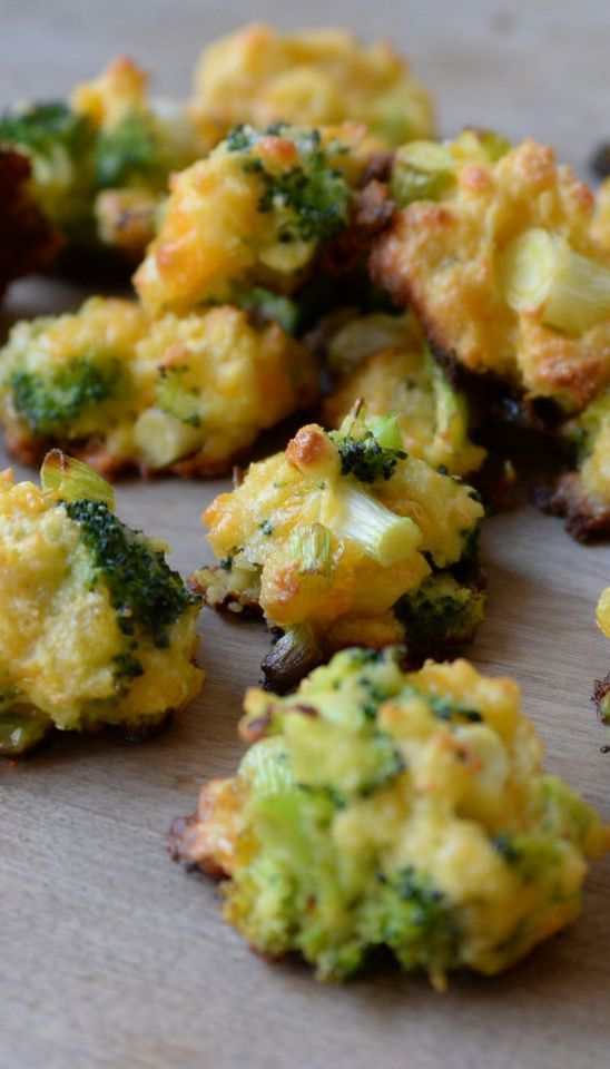 """In a world where sweet tooths are a common infliction, I have a raging """"savory tooth."""" I crave chips, pizza, and French fries all the time. I am always eager to find healthy ways to satisfy my nutritional vice. Luckily, these broccoli bites are perfect for that purpose. Pairing broccoli (one of the most nutrient-dense vegetables) with healthy fat will satisfy and sustain you. This healthy snack recipe is also super easy and relatively quick to make. Saying """"no"""" to junk food j"""