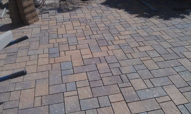 Belgard Domino In Tuscana Color In Scottsdale, Arizona Rear Patio By Pavers  Installed Company, ICPI Certified Contractor And Belgard Authorized Conu2026