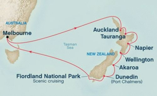 Our first escape.  13 nights to New Zealand - February 2015.