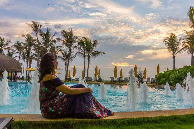 The Heritance Negombo, excelente opção de hotel próximo ao aeroporto internacional do Sri Lanka. Foto: Adriana Lage  Clique na foto para saber mais.Viagens Incríveis, Viagem Exótica.