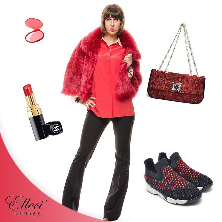 #Nuance sensuale e accattivante il #rosso è la tonalità ideale per contraddistinguere il vostro #look e accendere una serata speciale: declinalo su interi #outfit o con degli accessori per dominare la scena ---> http://bit.ly/1Uq21jc  #redpassion #elleci #elleciboutique #sales #wintersales #fashion #shoes #saldi #shoponline #sale #instagood #moda #amazing #shopping