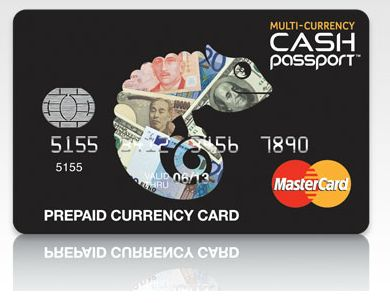 multi currency prepaid mastercard