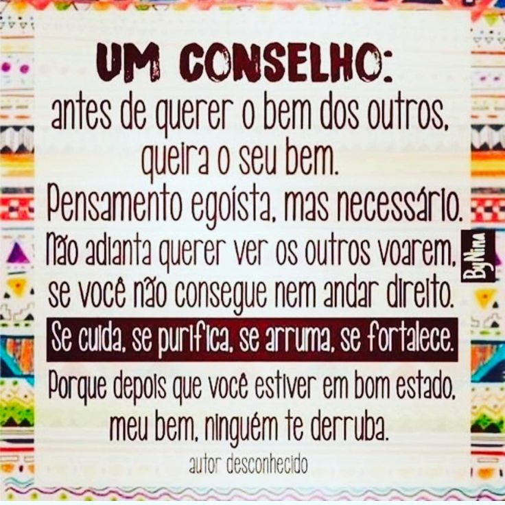 Via @instabynina Que tal uma dose de amor próprio para a vida começar a fazer sentido de fato??!! Convido a todos: Venham conhecer o nosso Grupo no Facebook, Projeto Despertar: https://www.facebook.com/groups/785660948155387/ Luz e paz a...