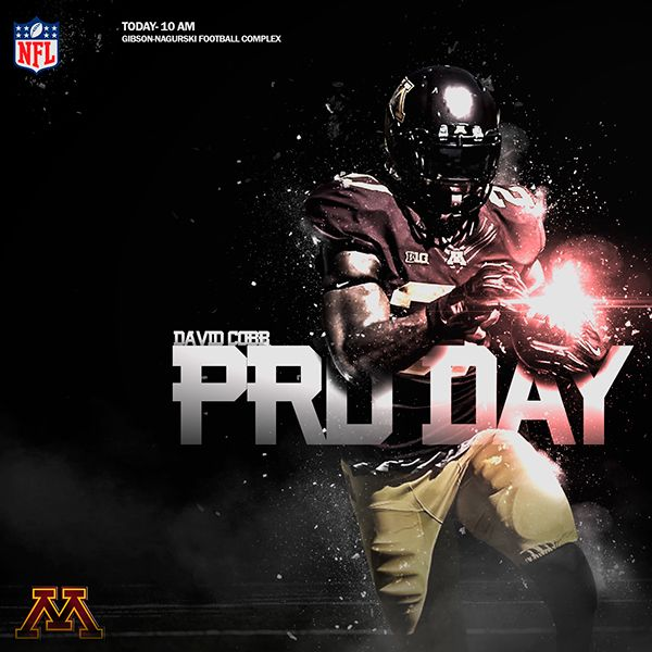 2015 Minnesota Pro Day on Behance