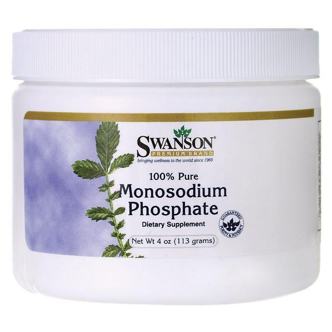 Swanson Premium100% Pure Monosodium Phosphate