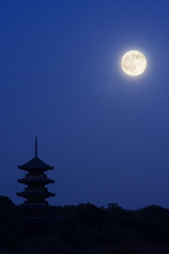moon in kyoto