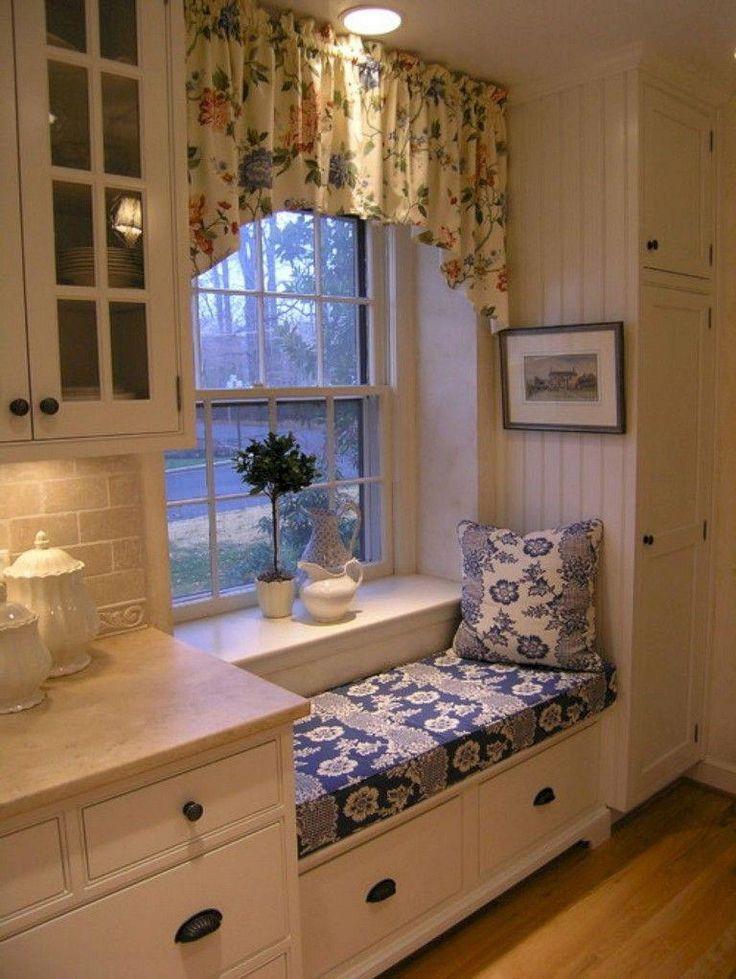 25+ Incredible Farmhouse Style Window Nook Ideas