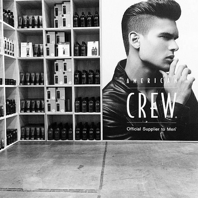 American Crew display at Salon Melbourne 2014