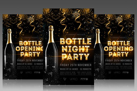 Grand Opening Party Flyer @creativework247
