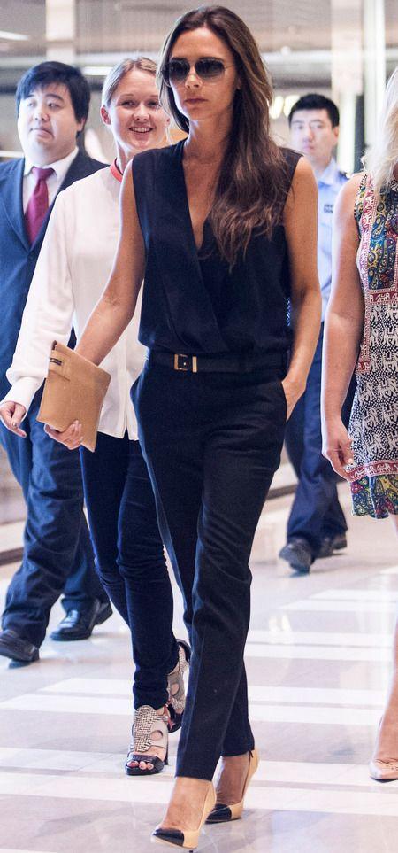 Victoria Beckham in China June 2013