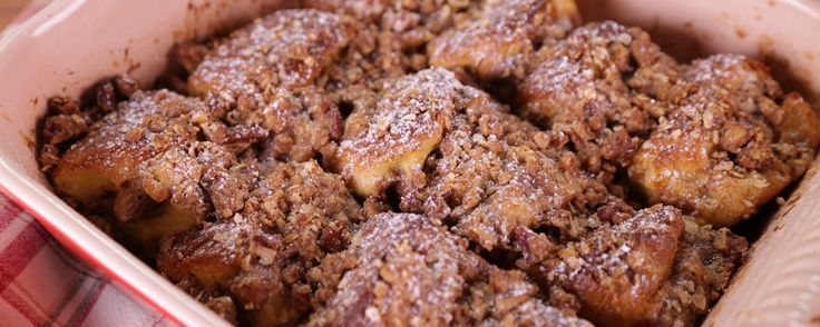 Is your sweet tooth craving something delicious? Try this cinnamon-sugar casserole!