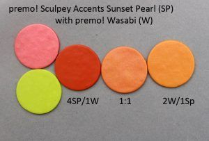 Premo! Color Recipes from Syndee Holt - Sunset Pearl & Wasabi