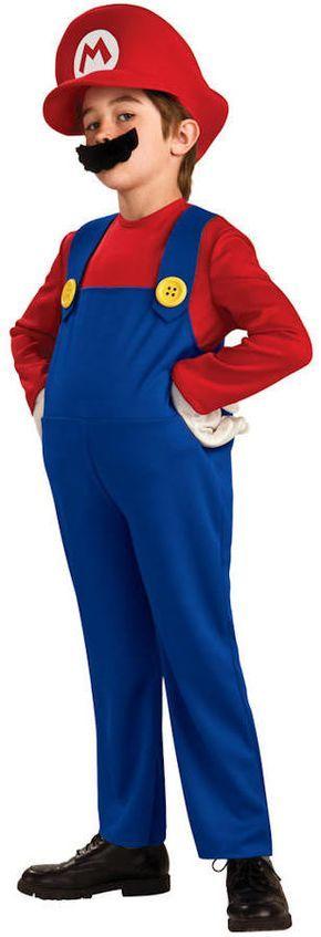 Disfraz niño Super Mario Bros. Mario, inflable