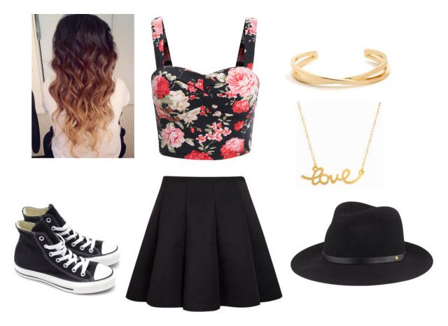"""""""Andrea Russet inspired"""" by helloitshope ❤ liked on Polyvore featuring Converse, Minnie Grace and rag & bone"""