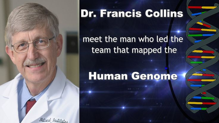 Dr Francis Collins Human Genome Project videos DNA National Institute of...