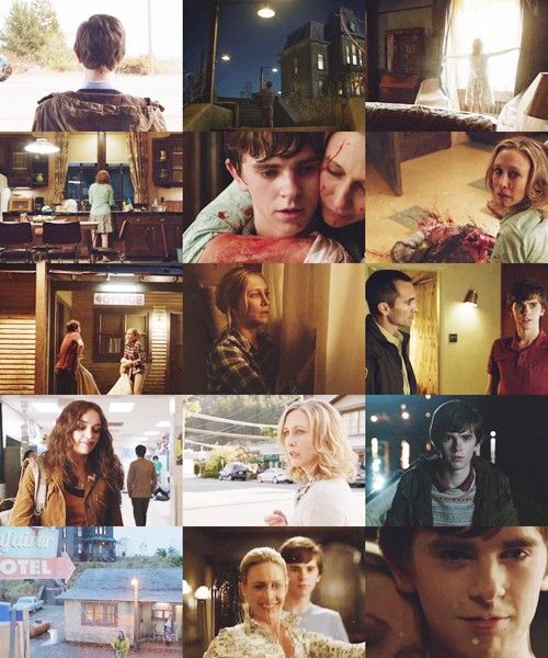 Bates Motel...interesting. Going to try this show today
